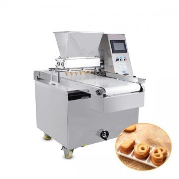 PLC Two Color Small Scale Cookie Biscuit Making Machine