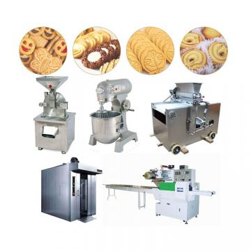 Smalle Scale Industrial biscuit making machine price with certificate