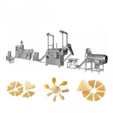 Automatic Extruded Fried Snack Food wheat Flour Bugles Chips Making Machine Production Line
