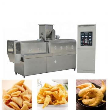 Automatic pani puri snacks Making Machine Bugles frying machine bugles chips process line